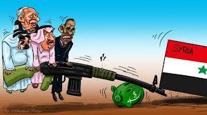 syria proy war