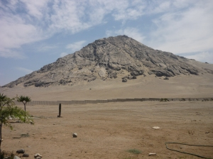 The 'holy' mountain