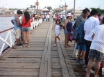 Chilling on Huanchaco's pier