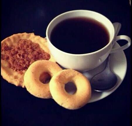 coffee with rosquillas